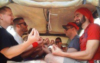 יום גיבוש עובדים משחקי ג׳יפים בשטח הפקת אירוע פרטי בפלגי בזלת