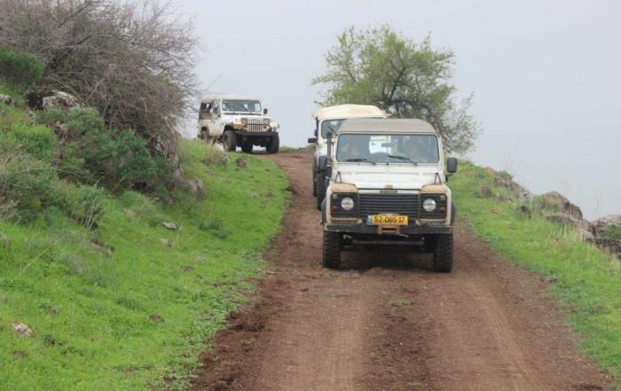 אירוע פרטי נסיעה בג׳יפים של פלגי בזלת