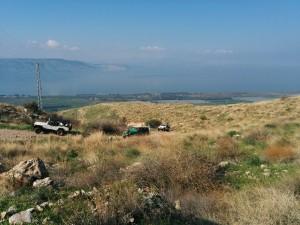 טיול ג׳יפים משפחתי לנחל סמך פלגי בזלת