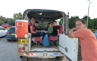 טיולי משפחות בצפון בג׳יפים של פלגי בזלת