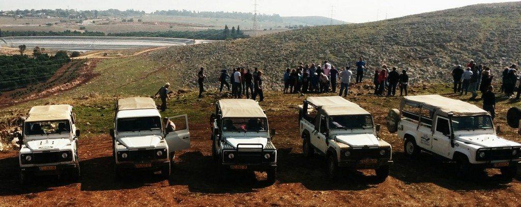 יום כיף לעובדים בצפון משחקי ג׳יפים אירוע פרטי במצפה הצופה לכנרת פלגי בזלת